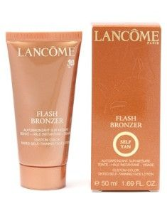Lancôme Flash Bronzer Custom Colour Tinted Self Tanning Face Lotion 50ml