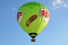 """D-OOFR: Ballonfahrt mit dem Heißluftballon """"Fritt"""" und Skytours Ballooning in NRW, Hessen und Rheinland-Pfalz"""