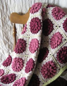 My+Pretty+Rose+Garden+Afghan++Queen+Size+++by+CrochetByChickieDees,+$290.00