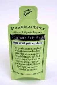 Pharmacopia Rosemary Body Wash - Pillow Pack (24 Pack) by Pharmacopia. $80.82. We proudly offer free shipping. We can only ship to the continental United States.. All of the products showcased throughout are 100% Original Brand Names.. High quality items at low prices to our valued customers.. Please refer to the title for the exact description of the item.. 100% Satisfaction Guaranteed.. Pharmacopia Rosemary Body Wash - Pillow Pack pillow pack package.