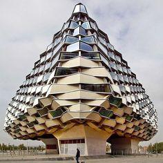 Pavilion of Aragon,Olano Y Mendo Arquitectos @marinasplace. See this Instagram photo by @designboom • 10.9k likes