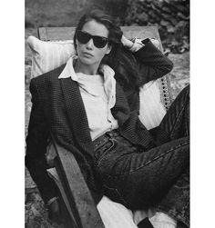 Christy Turlington wearing Calvin Klein for Vogue, September Photo: Bruce Weber Christy Turlington, Looks Street Style, Looks Style, Style Me, Classic Style, Moda Fashion, 80s Fashion, Vintage Fashion, Farm Fashion