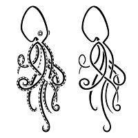 TATTOO TRIBES - Shape your dreams, Tattoos with meaning - octopus, sea, intelligence, smart, sinuous, camouflage, disguise, spyral
