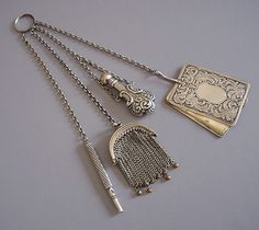 Chatelaine British Museum Coloured and chased gold and silver