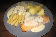 Fischfilet mit leichter Sahne - Senf - Sauce