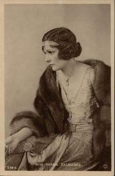 Norma Talmadge, 1920s.
