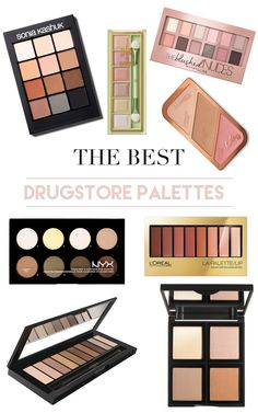 The Best Drugstore Palettes | Drugstore Makeup | Drugstore Makeup under $20