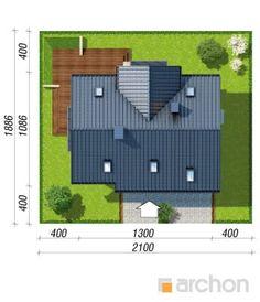 Dom pod liczi 5 (P) Bungalow House Design, Outdoor Furniture Sets, Outdoor Decor, Nova, Villa, Architecture, Projects, Ideas, Home Decor