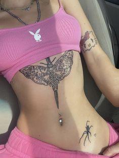 Aesthetic Body, Aesthetic Tattoo, Pink Aesthetic, Dope Tattoos, Pretty Tattoos, Mini Tattoos, Girl Body, Get A Tattoo, Body Mods