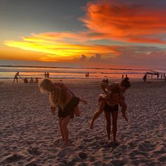 Cherish the moment with your loved ones. Enjoy this breathtaking sunset view at our backyard.  #TheCamakilaLegianBali Picture by: @alanamcdonald_