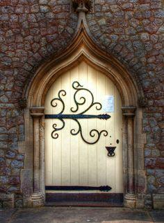 vmburkhardt: Chapel Door (by Lee Crosbie)