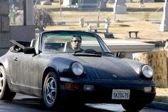 Californication-Someone needs to make Hank take better care of the Porsche! :(