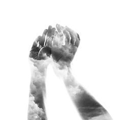 Storms Art Print by anetaivanova Double Exposure Photography, Hand Photography, Types Of Photography, Photography Ideas, Hand Mudras, Einstein, Surrealism Photography, Typography Poster, Photo Manipulation