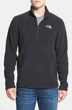 The North Face  TKA 100 Glacier  Quarter Zip Fleece Pullover available at… bc71b437b6ae