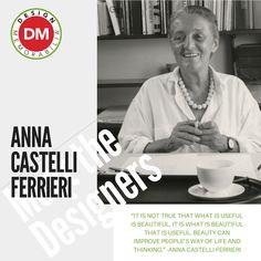 #MeetTheDesigners #DesignMemorabilia #Italy #creative #design #gift #kitchenware #kitchen #homedecor #home #AnnaCastelliFerrieri
