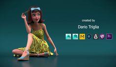 Character Rigging Reel by Dario Triglia, Character Rigging Reel, Dario Triglia, Character Rigging, Female Character Rigging, Female Character Rig, Character Rig, Rigging, 3d, cgi, 3d rig, animation, Show Reel, Demo Reel