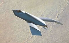 Boeing Bird of Prey, 1996. It was a black project aircraft, intended to demonstrate stealth technology.