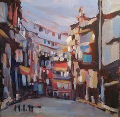 Heidi Malott Original Paintings: Contemporary Impressionism Original Art Italy City...