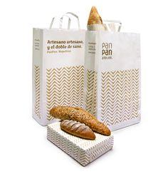 PanPan   Mayúscula Brands  Reinterpretación de la espiga de trigo tradicional. El concepto del naming impregna toda la identidad. Proyecto con un BRONCE en los Premios Laus en Identidad Corporativa 2010, y seleccionado entre los25 mejores negocios de retail internacionales 2010.