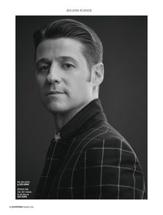 Gotham star Ben McKenzie covers the February 2016 issue of August Man Malaysia. Starring in a dapper photo shoot, McKenzie is photographed by Karl Simone. Benjamin Mckenzie, My Man, A Good Man, Jim Gordon, Military Style Coats, The Oc, Good Looking Men, Military Fashion, Gotham