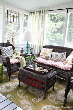 Screened Porch by Southern Hospitality