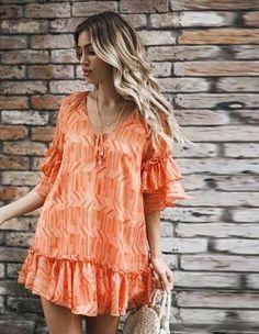 2019 Summer Women V Neck Striped Short Mini Dress Casual Half Sleeve Ruffles Dress Boho Lace Up A-Line Dress Vestidos Ruffle Dress, Chiffon Dress, Boho Dress, Print Chiffon, Ruffles, Striped Dress, Cheap Dresses, Casual Dresses, Vestidos