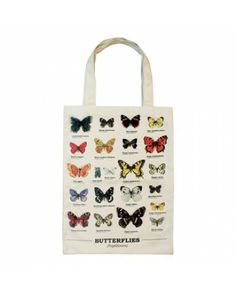 Ecology - Butterfly Tote Bag - £12.99