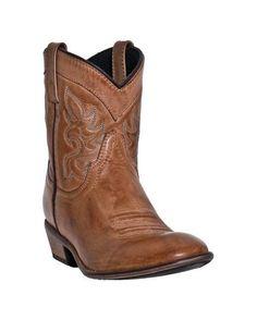 Dingo Women's Collared Boot - Antique Tan