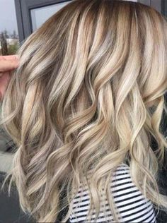 Blonde Hair Color 2018 With Lowlights