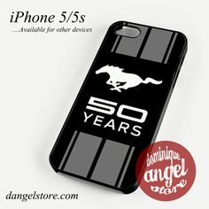 Ford Mustang 50 Years Phone case for iPhone 4/4s/5/5c/5s/6/6 plus