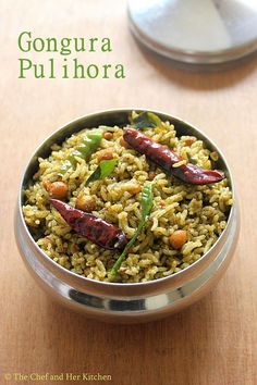 Gongura(Red Sorrel leaves)   is very famous in Andhra Pradesh especially for its various varieties  like Gongura Pacchadi(Gongura chut...