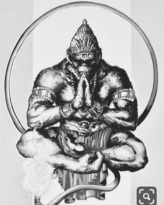 God Tattoos, Body Art Tattoos, Sleeve Tattoos, Tattoos For Guys, Warrior Tattoos, Gorilla Tattoo, Monkey Art, Monkey King, Tattoo Sketches
