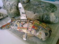 [183/366] Paper Mache Whale by perkyNbLue, via Flickr