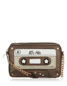 80's Hit Across Body Bag - $44.00 : accessorize #cassette_tape