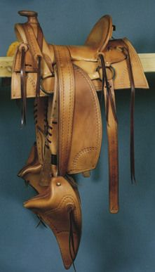 Mountain Man Saddle built by Tom | From Our Hands ...