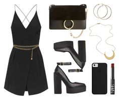 """Moon"" by baludna ❤ liked on Polyvore featuring Topshop, Chloé, NARS Cosmetics and Chanel"