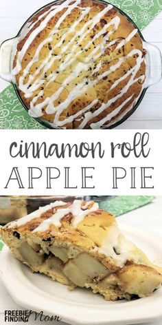 Want an apple pie recipe that is guaranteed to knock the socks off your friends and family? This Homemade Cinnamon Roll Apple Pie is super simple and inexpensive to make and tastes incredibly delicious. It is perfect for the holidays (Thanksgiving and Christmas) or just to indulge your sweet tooth.