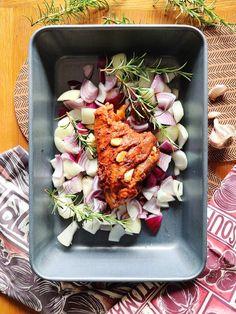 Slow-Roast Lamb Shank Ratatouille - The Perfect Mini-Sunday Roast Roasted Lamb Shanks, Slow Roast Lamb, Ratatouille Recipe, Roasting Tins, Sunday Roast, Baking Tins, London Restaurants, Recipe Using, Cooking Time