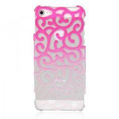 Fancy - Color Gradient Hollow Vine iPhone 5 Case - Pink   hallomall - Accessories on ArtFire