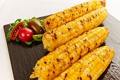 Executive Chef Craig D'Cruze delicious recipe for Roasted Jalapeno Honey Buttered Grilled Taber Corn 4 Cobs of Taber Corn. Roasted Jalapeno, Honey Butter, Executive Chef, Chef Recipes, Grilling, Yummy Food, Favorite Recipes, Vegetables, Delicious Food