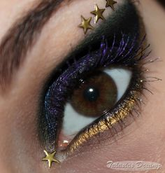 Sailor Star Lights inspired make up by http://www.talasia.de/2013/07/15/sailor-starlights-inspired-make-up/
