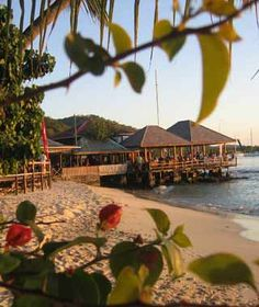 Basil's Bar - Mustique Island one of my favorite spots to cool out after sailing over from St.Vincent.