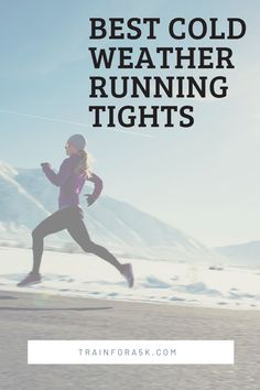 Running tights, especially cold running tights, help regulate body temperature by allowing cold out and keeping the heat locked in.They can also compress the legs to improve circulation, although this isn't their main function.