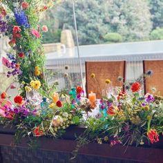 Table Flowers, Wedding Flowers, Floral Wreath, Wreaths, Plants, Color, Dining, Home Decor, Weddings