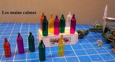 les mains calmes: Faire des petites bouteilles de vin