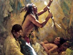 art of american west | Howard Terpning - American painter of the Plain's Native Americans