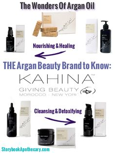 THE Argan Beauty Brand to Know: Kahina Giving Beauty | StorybookApothecary.com