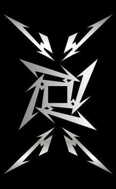 Resultado de imagen para logo metallica wallpaper
