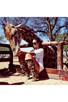 This Week In Pictures - Rihanna Zoo Karl Lagerfeld and Rita (Vogue.com UK)