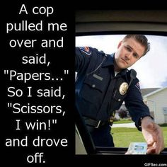 lol | Funny Cop Jokes